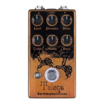 Talons High Gain Overdrive Pedal