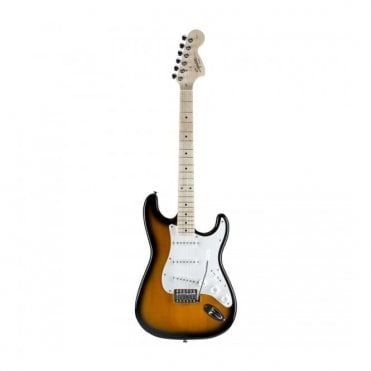 Squier Affinity Series Stratocaster, Maple Neck, Two-Tone Sunburst