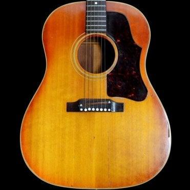 1962 J-45 Flat Top Dreadnought Acoustic Guitar, Sunburst