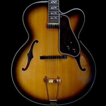Aria Pro II FA-71 Archtop 2010 Electric Guitar, Tobacco Sunburst