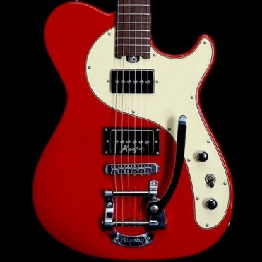 MA-2B Electric Guitar, Very Light Red Finish, Pre-Owned