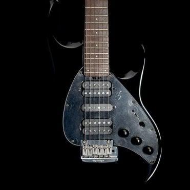 Music Man Silhouette Special RN Electric Guitar w/ Piezo, Gloss Black