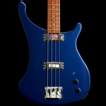 4004 Laredo Electric Bass Guitar, Midnight Blue Finish