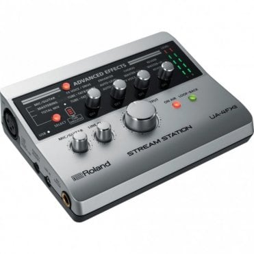 UA-4FXII Stream Station USB Webcasting Audio Interface