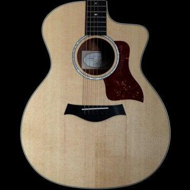 214ce-FS DLX Figured Sapele Electro Acoustic Guitar