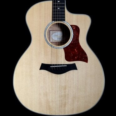 214ce DLX QM Electro - Acoustic Guitar, Quilted Maple Back and Sides