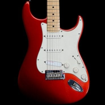 2009 American Standard Stratocaster in Candy Apple Red, Pre-Owned