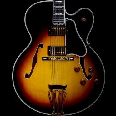 Custom Byrdland Semi-Hollow Electric Guitar, Vintage Sunburst