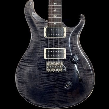 Custom 24 Electric Guitar in Grey Black #235452