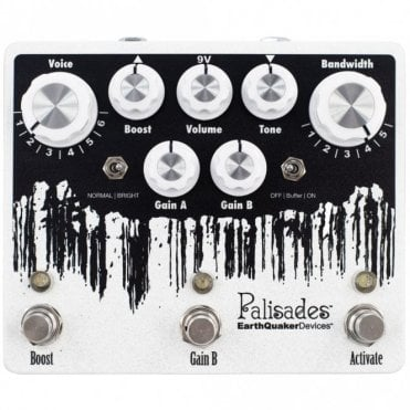 Palisades V2 Dual Overdrive and Boost Pedal