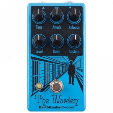 The Warden V2 Optical Compressor Pedal