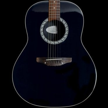 1711 Balladeer Standard Electro-Acoustic Guitar, Dark Green