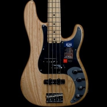 American Elite Ash Precision Bass, Maple Neck, Natural Finish