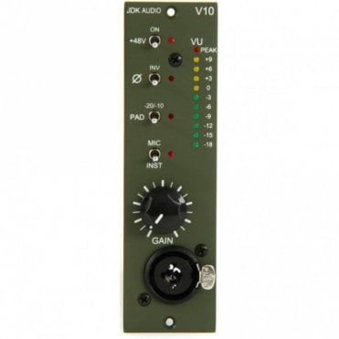 JDK V10 Single Channel Mic Preamp - Open Packaging