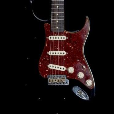 '62 Journeyman Relic Stratocaster in Black/Tortoise Shell, 2017 Model