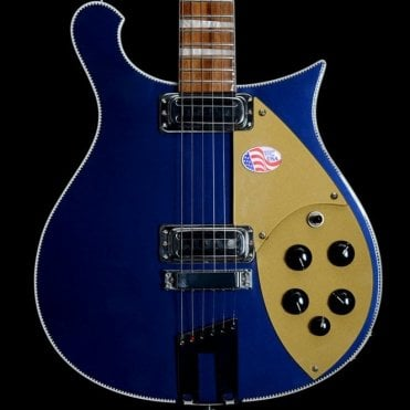 660 6-String Electric Guitar in Midnight Blue, 2013 Model - Pre-Owned