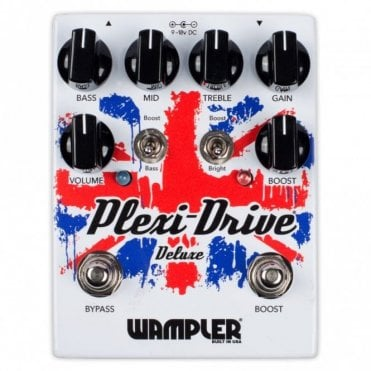 Plexi Drive Deluxe Overdrive 'Amp In A Box' Guitar Pedal