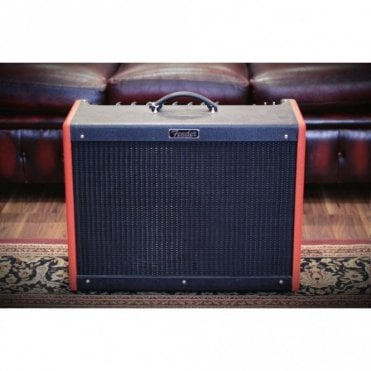 FSR Hot Rod Deluxe III Limited Edition Valve Amplifier, Red Nova 2-Tone Finish, New Old Stock