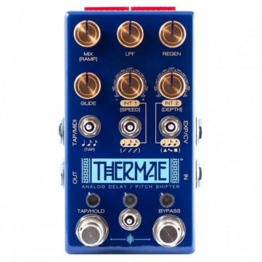 Thermae Analog Delay and Pitch Shifter Pedal