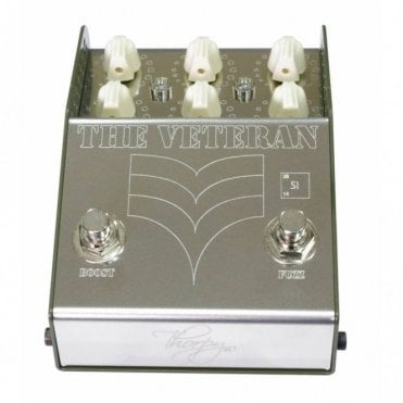 The Veteran Dual Fuzz and Boost Pedal