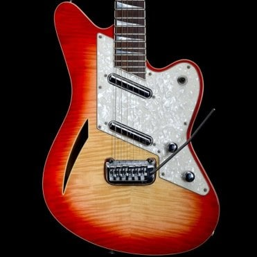Surfcaster Semi-Hollow Electric Guitar