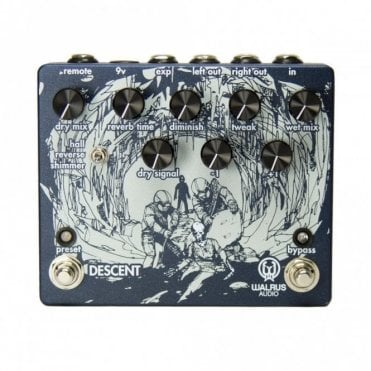 Descent Reverb Pedal