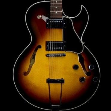 2002 ES-135H Semi-Hollow Electric Guitar in Tobacco Sunburst - Pre-Owned