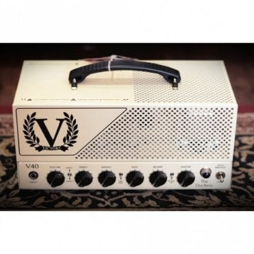 V40 The Duchess EL34 Loaded Valve Amp Head