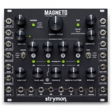 Magneto, Four Head d'Tape Echo & Looper Eurorack Module