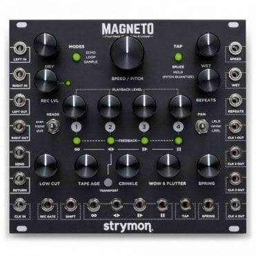 Magneto, Four Head d'Tape Echo & Looper Eurorack Module