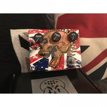 Centurion Overdrive Klon Clone Pedal, Union Jack Edition Finish