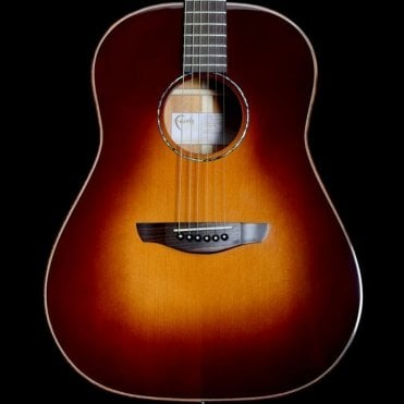 Classic Burst Series Mars Drop Shoulder Dreadnought Acoustic Guitar