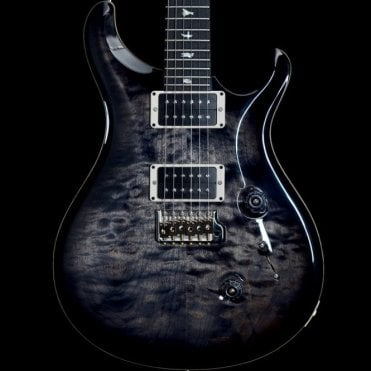 Custom 24 Electric Guitar in Grey Black, #243052