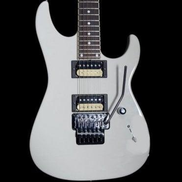 GJ2 Grover Jackson Shredder Vintage Electric Guitar, White, Pre Owned