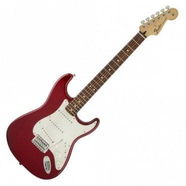 Fender Standard Stratocaster, Candy Apple Red w/ Pau Ferro Fingerboard (Aintree Store)