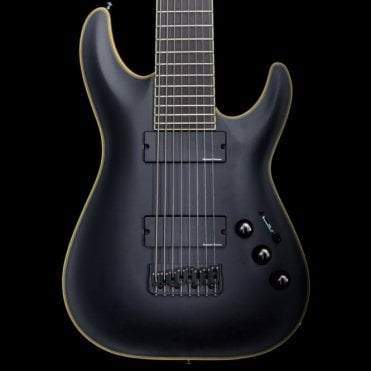 Blackjack ATX-C8 Electric Guitar with Seymour Duncan Blackouts, Pre-Owned