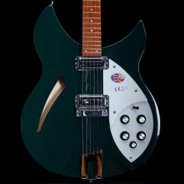 330/6 Semi-Hollow Electric Guitar, Limited Edition British Racing Green, B-Stock #17-38794