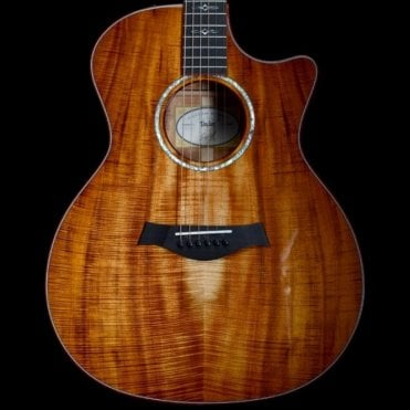 Custom AA Koa Grand Auditorium CE w/ Bloodwood Binding, Satin Neck