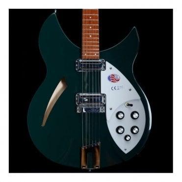 330/6 Semi-Hollow Electric Guitar, Limited Edition British Racing Green, B-Stock #17-38795