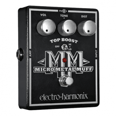 Micro Metal Muff Distortion w/ Top Boost Effects Pedal