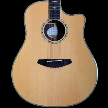 2015 Breedlove Stage Dreadnought Acoustic Guitar, Natural Finish, Spruce Top