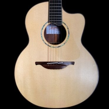 Lowden Pierre Bensusan Signature Acoustic Guitar + Pickup, Pre-Owned