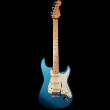 Preowned MIM Stratocaster 1991 Lake Placid Blue w/Hard Case (Aintree Store)