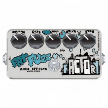 Vexter Fat Fuzz Factory Effects Pedal