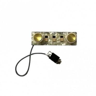 Bass Control Panel & Wired Jack Socket Perloid (HA2BPC)