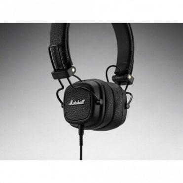 Major III Wired Headphones (Black)