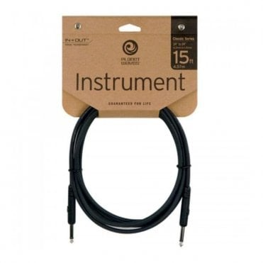 D'Addario Planet Waves PW-CGT-15 15' Classic Series Instrument Cable