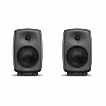8040BPM Pair of Studio Monitors (Dark Grey)