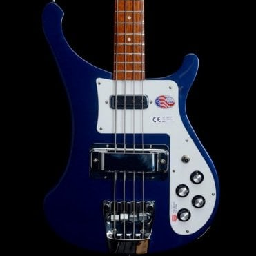 2018 4003s Electric Bass Guitar, Midnight Blue #18-13770