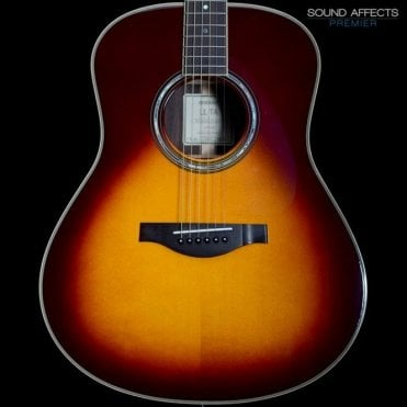 LL-TA Transacoustic Dreadnought Electro-Acoustic w/ Natural Chorus and Reverb, Brown Sunburst